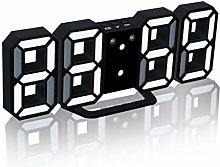 3D Digital Clock Luminous Night Adjustable