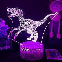 3D Dinosaur Bedside Lamp Nightstock Night Pill