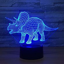 3D Dinosaur Night Light USB Touch Switch Decor
