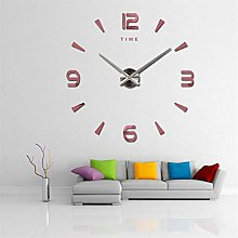 3D DIY Big Decorative Kitchen Clocks Acrylic