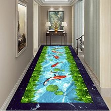 3D Dolphin Mermaid Corridor Mat Doormat Bedroom