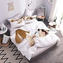 3D Duvet Cover Set Dog With Duvet Cover And Pillow