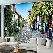 3D European Town Oil Painting Mural Hotel Living