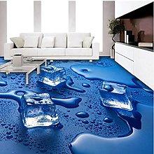 3D Floor Wallpaper for Living Room Custom Modern
