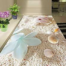 3D Flooring Wallpaper Shell On The Beach Custom