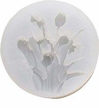 3D Flower Silicone Epoxy Mold Cake Fondant