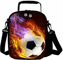 3D Football Kids Reusable Lunch Container Kids