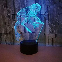 3D Frog Night Light USB Touch Switch Decor Table