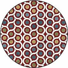 3D Geometric Pattern Area Rugs Carpets,4'