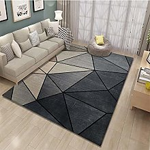 3D gradient geometry Area living room with carpet,