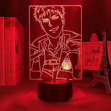 3D Illusion Lamp Anime Attack for Titan 3D Lamp