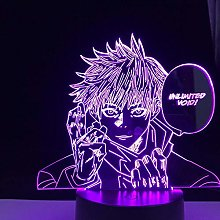 3D Illusion Lamp Led Night Light Anime Character