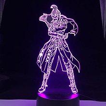 3D Illusion Lamp Led Night Light Anime Gundham