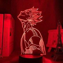3D Illusion Lamp Led Night Light Anime Haikyu