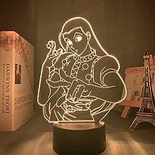 3D Illusion Lamp Led Night Light Anime Hxh Illumi
