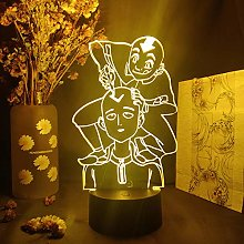 3D Illusion Lamp LED Night Light Anime One Punch
