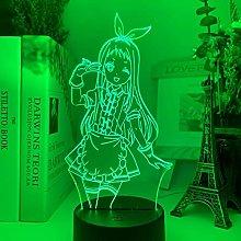 3D Illusion Lamp Led Night Light Indoor Lighting