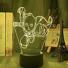 3D Illusion Lamp Led Night Light Pu Yuyi Punch