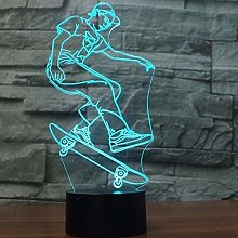 3D Illusion Light Kids Desk Lamp Gaming Gifts for
