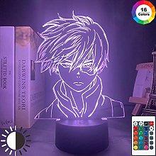 3D Illusion Night Light LED Naruto Desk Table