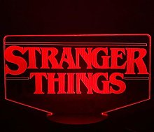 3D Illusion Night Light,The Tv Show Stranger