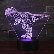 3D Illusion Night Light Win-Y LED Desk Table Lamp
