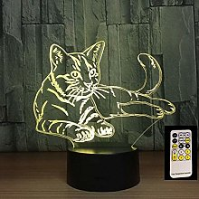 3D lamp Night Lights ,Bedroom Home Decoration