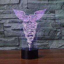 3D led lamp Hologram Light ,Home Decoration with