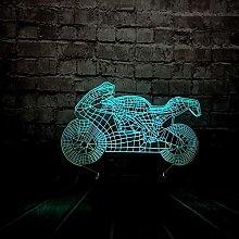 3D led lamp Night Lights Orangutan,Dimmable