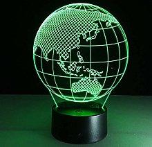 3D Led Lights, Table Lamp Decoration Lights,