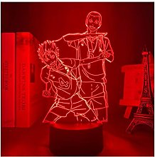 3d Led Table Lamp Animation Haizhu Usb Light