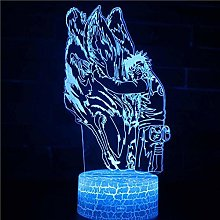 3D LED Table Lamp Japanese Anime Cartoon Movie