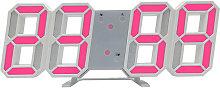 3D Led Wall Clock Multi-Functional Digital Table