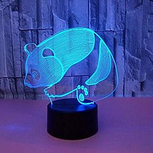 3D Light Night lamp Panda,Can be Used for The