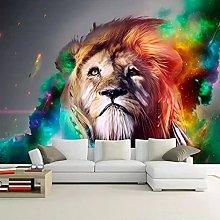 3D Lion Animal Photo Wallpaper Living Room Bedroom