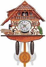 3D Mini Cuckoo Clock, German Black Forest Cuckoo