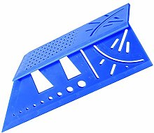 3D Mitre Angle Measuring Template Tool, 45°/90°