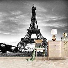 3D Mural Eiffel Tower Bedroom Wallpaper Photo