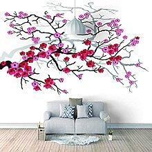 3D Mural Red Flower Bedroom Wallpaper Photo Poster
