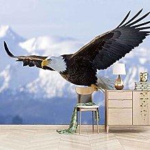 3D Mural Sky Animal Eagle Bedroom Wallpaper Photo