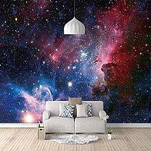 3D Mural Starry Night Bedroom Wallpaper Photo