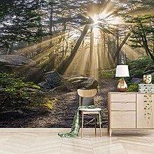3D Mural Sunny Trees Landscape Bedroom Wallpaper