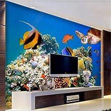 3D Mural Wallpaper for Living Room Underwater