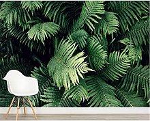 3D Mural Wallpaper Plant Living Room Background