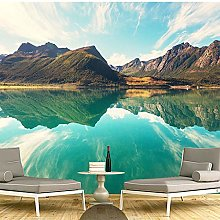 3D Mural Wallpapers Hd Landscape Mountains Lake