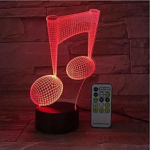 3D Night Lamp 3D Illusion Lamp Remote Or Touch