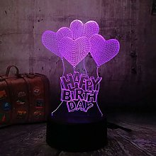 3D Night Light Birthday Gift 3D LED Night Light