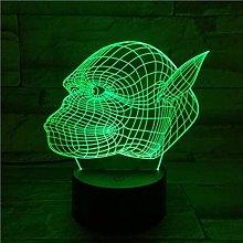 3D Night Light Dinosaur Night Light 3D lamp The