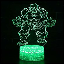 3D Night Light for Boys 3D Illusion Lamp The