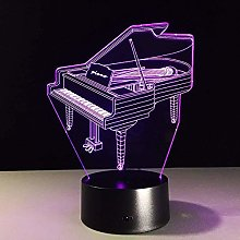 3D Night Light for Boys Christmas Gifts Music